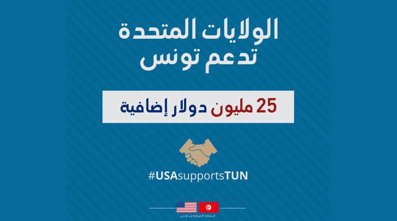 USA spenden Tunesien 25 Mio Dollar für den Kampf gegen Covid-19