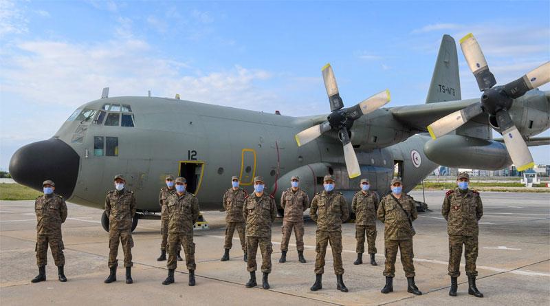 Tunesisches Team zur medizinischen Hilfe in Mailand, Italien eingetroffen