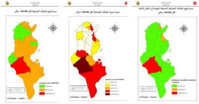 Covid-19 Zahlen Tunesien von Samstag, 30 Mai 2020
