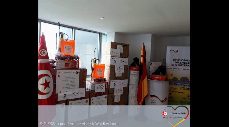 Deutschland liefert Sanitärmaterialien und Ausrüstung an 41 Gemeinden
