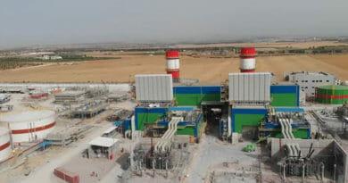 Borj El Amri, Manouba: Gaskraftwerk geht in Betrieb