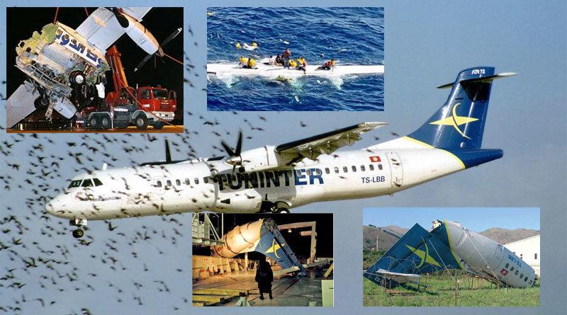 6 August 2005 - Tuninter Flug 1153 stürzt vor Palermo ins Meer