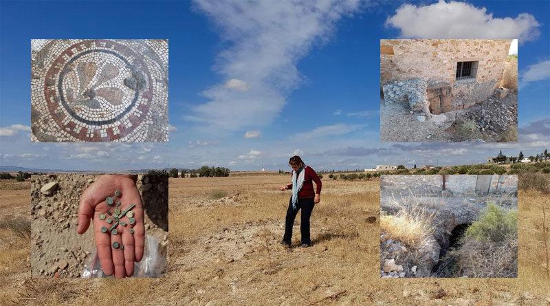 INP: Archäologische Funde in Borj El-Amri (Manouba)