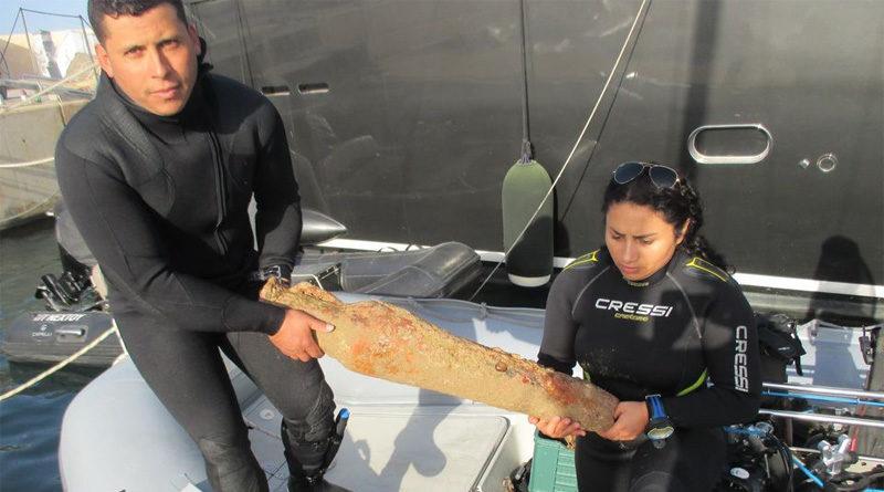 INP: Archäologische Unterwasserfundstellen im Meer vor Tunis