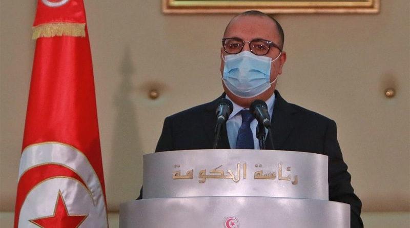 Rede von Regierungschef Hichem Mechichi ans Volk