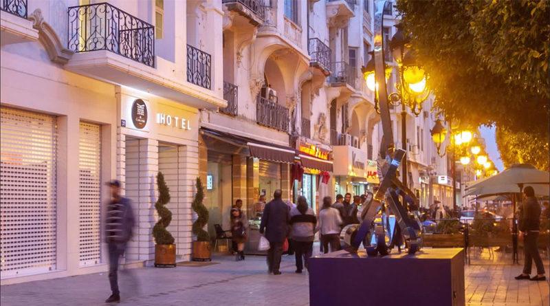 Hotel Carlton - Fluchtpunkt in der Nacht zum 14 Januar 2011