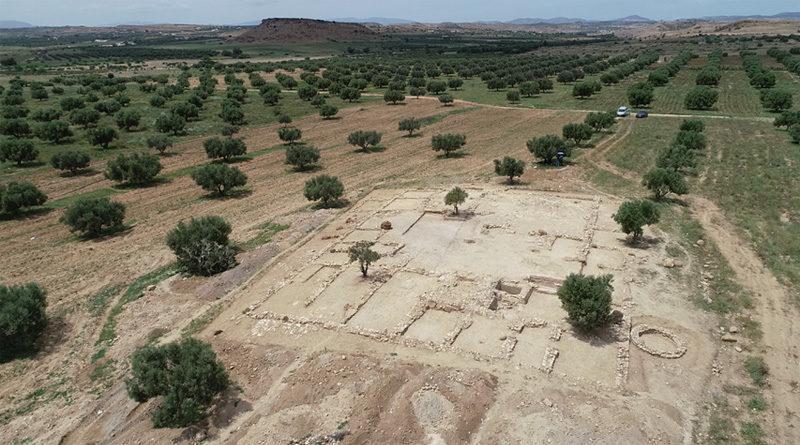 Antiker Bauernhof an der Trasse der zukünftigen Autobahn Tunis-Jelma entdeckt