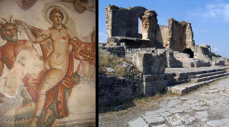 Haus der Venus mit Mosaiken