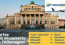 Nouvelair fliegt ab 5 Juni wieder 4 Routen nach Deutschland