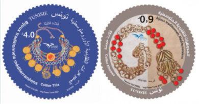 Traditioneller mediterraner Schmuck - Ausgabe von 2 Briefmarken