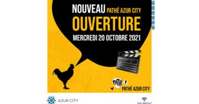 Drittes Pathé-Kino eröffnet in der Azur City Mall