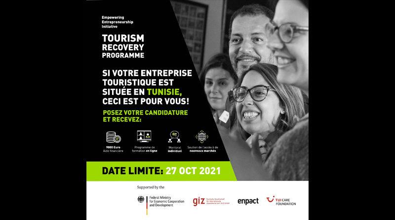 """""""Tourism Recovery Programme"""": Unterstützung für 100 tunesische Tourismusunternehmen"""